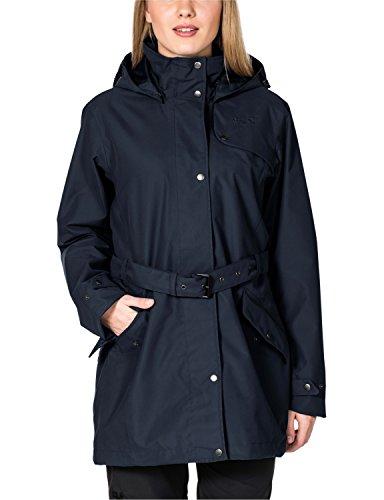 Jack Wolfskin Damen Wetterschutzjacke Muconda Coat W, Night Blue, XL