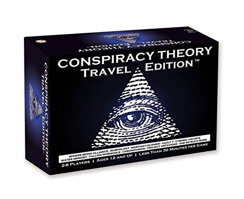 Conspiracy Theory Travel Edition Board Game