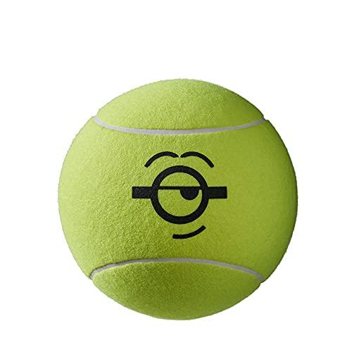 Wilson Minions Jumbo Ball, Palline da Tennis Unisex-Adult, Yellow, NS
