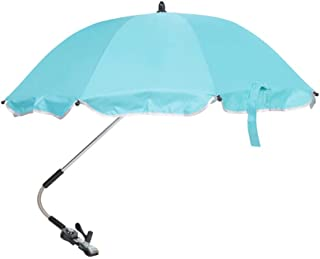 Hanging Baby Stroller Loaded with Solid Color Umbrella to Protect The Baby from UV Rays