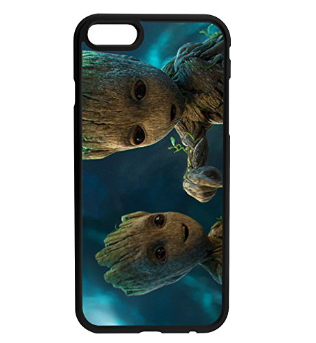 I am Groot Baby Groot Rubber Bumper Hard Back Phone Case Cover for iPhone & Samsung's (iPhine 5/5s/SE)