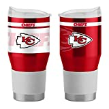 Boelter Brands NFL Kansas City Chiefs Travel Tumbler24oz Ultra Twist Style, Team Color, 24 Ounce