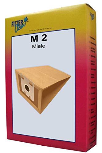 FilterClean M 2 Staubsaugerbeutel, Braun