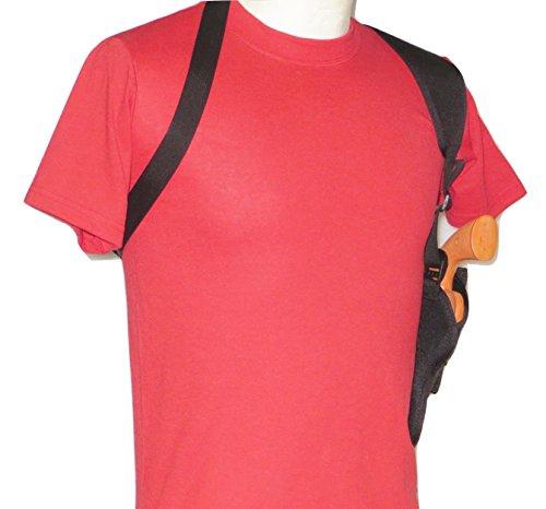 Federal Vertical Shoulder Holster for 2 1/2' - 3' Judge Public Defender