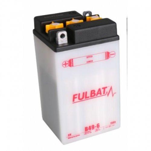 Fulbat - Motorrad Batterie B49-6 6V 8Ah - Akku(s)