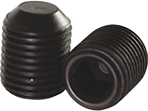 1/4-28-1/4 Set screw Hex Head Set Screw, Cup Point, 100-Pack