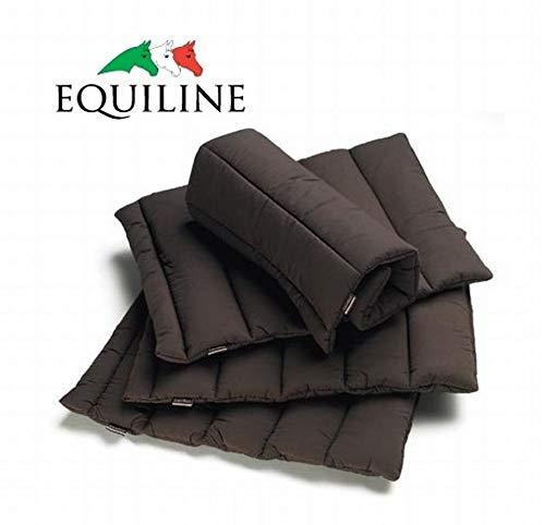 Equiline - Bandagen Unterlagen Quilted Wraps (012 Brown, Uni)