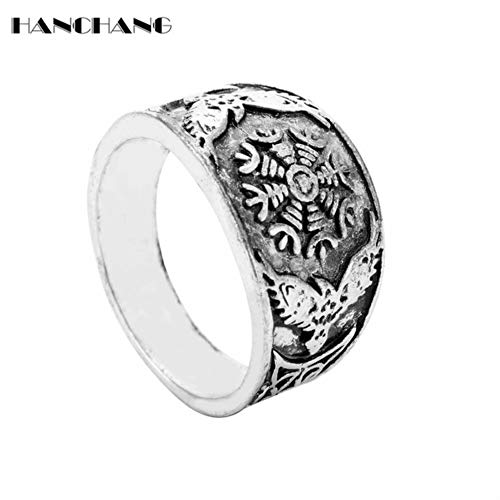 Viking Ring Men Rings for Women Wedding Engagement Jewelry Retro Accessories Finger Ring