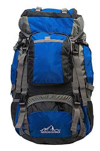 American Outback Zion interne Rahmen Wandern Rucksack, blau, L