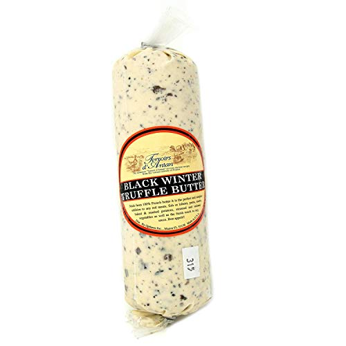 Black Winter Truffle Butter from France in Plastic Roll - 16 oz