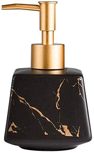 Aokiper Seifenspender nachfüllbarer Seifendosierer für Flüssigseife und Lotion aus hochwertiger Keramik, 13.5 x 8.5cm, Füllmenge 260 ml
