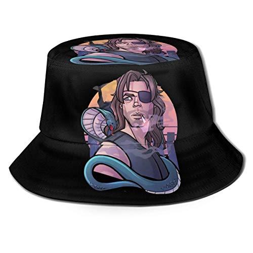 DDONEA Escape de Nueva York Unisex Sombrero de cubo Vintage Pescador Sombreros Reversible Packable...