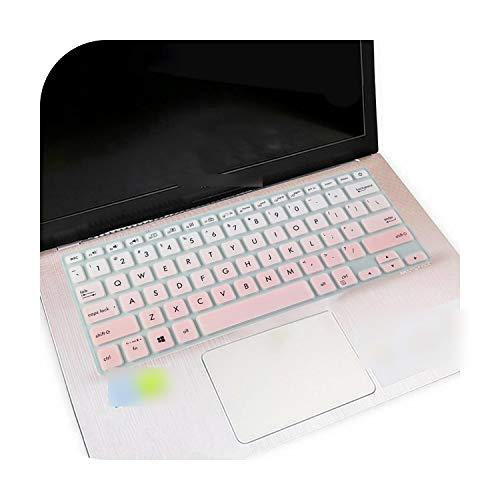 Fadepink - Funda protectora para teclado de ordenador portátil Asus Vivobook S14 14 14 pulgadas S430 S430U S430UF S430Ua S430Fn S430Fa S4300F