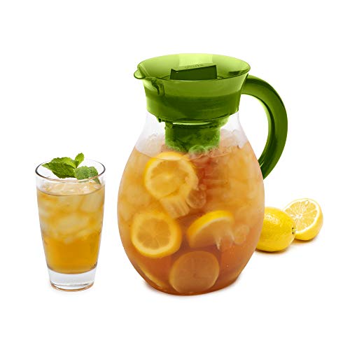 Primula The Big Iced Tea Maker Infusion, Brewer, Large Capacity, Beverage Pitcher, 1 Gallon, Green