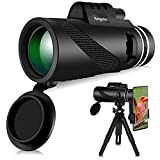 Best Telescope For Birds - Monocular Telescope - 12X50 High Power Monocular Review