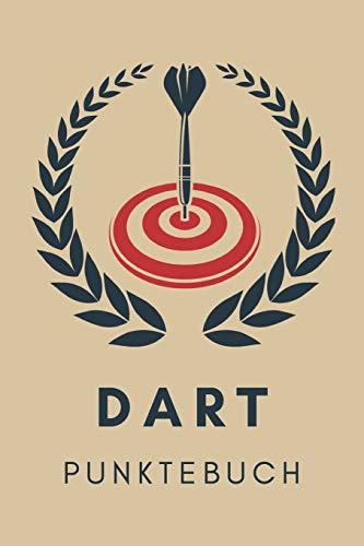 Dart Punktebuch: 6x9 Spielblock für über 100 Dartpartien, mit Dart Outs, für Training oder Turnier für Crickets, Tactics 301, 501, 701 oder alle anderen Spiele dein Dartzähler Buch, Scorer Book
