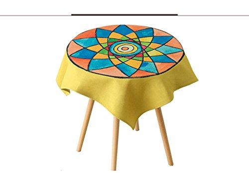 JCRNJSB® Papier peint à motifs ethniques exotiques Lavable et facile à entretenir ( taille : 85*85cm )
