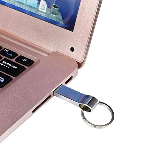 trancoss 5 Stück USB Stick 64GB Speicherstick Wasserdicht Flash-Laufwerk Memory Stick mit Schlüsselanhänger (64gb)