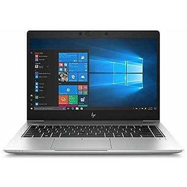 HP Elitebook 745 G6 Business Laptop, 14″ FHD (1920 x 1080), AMD Ryzen 7 PRO 3700U APU with, 8GB RAM, 256GB SSD, Windows 10 Pro (Renewed)