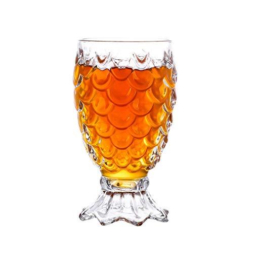 Bonne Birra Premium Glass Bere Tazze Alti di Succo di Succo Alto per Bar Ristoranti Feste (Color : Clear2)