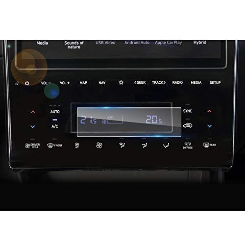 LFOTPP Klimaanlage Bildschirm Schutzfolie für Tucson NX4, Panzerglas Displayschutzfolie
