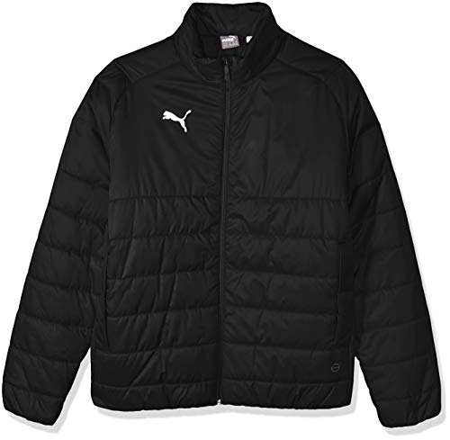PUMA Herren LIGA CASUALS PADDED JACKET Übergangsjacke, Black White, Large
