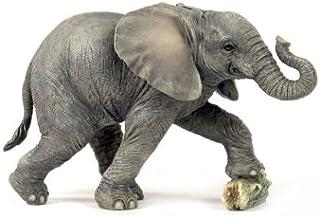 Veronese Design Baby Elephant w/Rock