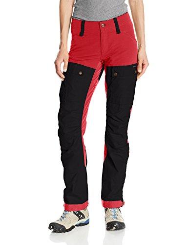 FJÄLLRÄVEN Damen Keb Trousers W Regular Lange Hose, Red, 44