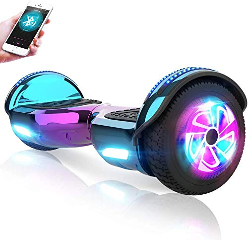 M MEGAWHEELS Hoverboard, Patinete electrico Auto Equilibrio...
