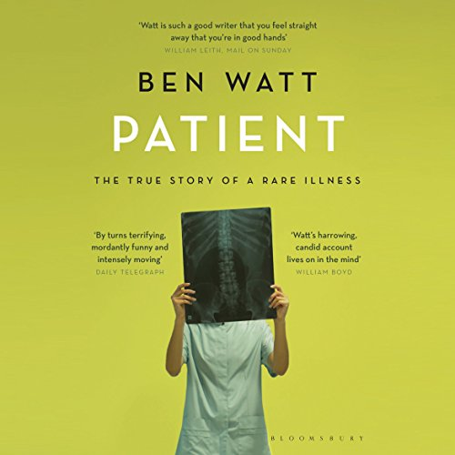 Patient audiobook cover art