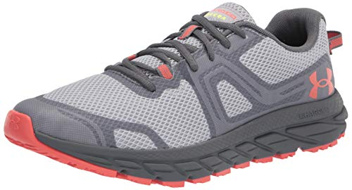 Under Armour mens Charged Toccoa 3 Running Shoe, Mod Gray (102 Pitch Gray, 11 US
