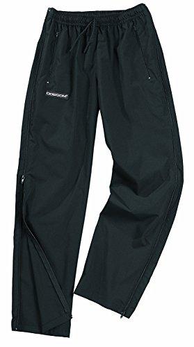 Dobsom Saltö Reha Pantalon de survêtement pour homme et femme I avec fermeture éclair sur le côté I Pantalon de sport pour homme et femme - Noir - XXXXL