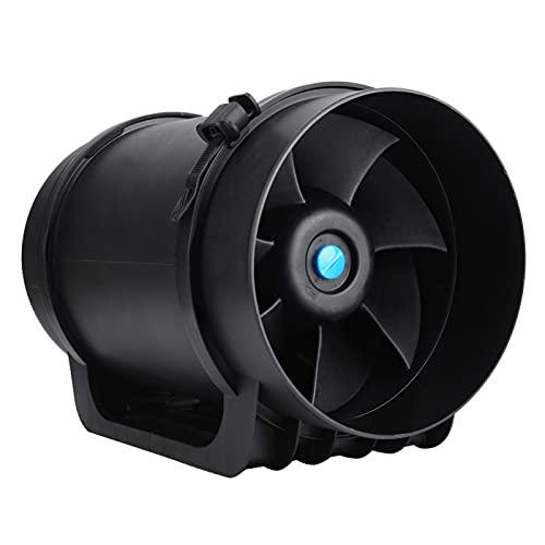 Ventilador de conducto Motor EC Velocidad Ajustable 760CFM Accesorio de Ventilador Controlador de Velocidad del Ventilador de ventilación para Lugares públicos para Salas de(220V)