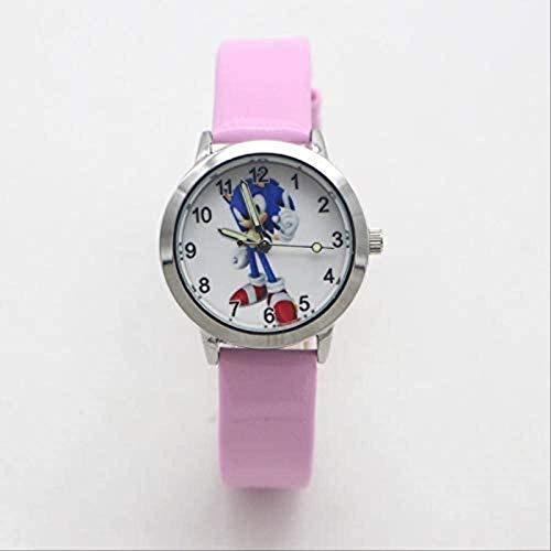 VNAURRYSonic Spielzeugmode Quarz Kind Cartoon Sonic niedliche Uhr Kinder Student Mädchen Junge Uhr Geschenk