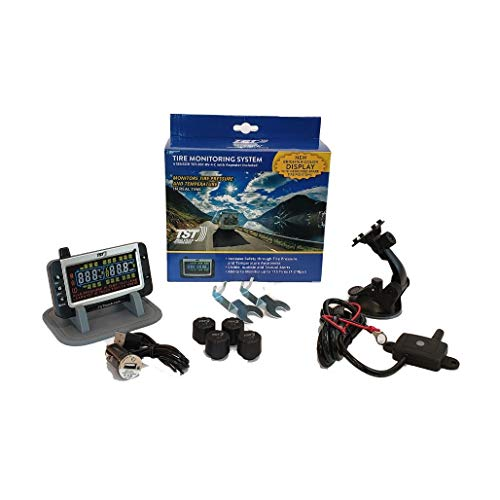 TST 507 4 Sensor Tire Monitoring System with Color Display - Handles Multiple Trailers