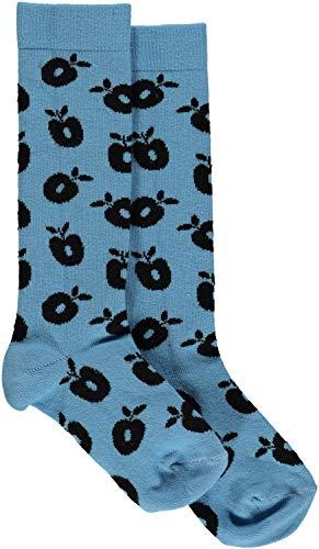 Smafolk Kinder Socken mit allover Apfelprint Groesse EU 15-18