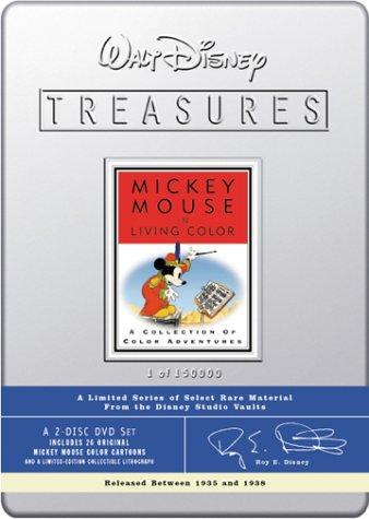 Walt Disney Treasures - Mickey Mouse in Living Color [DVD] (2001) Colvig, Pinto