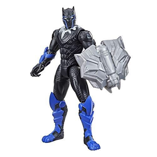 Hasbro Marvel Avengers - Figura Mech Strike de Pantera Negra de 15 cm con Accesorio Mech de Batalla - para niños de 4 años en adelante