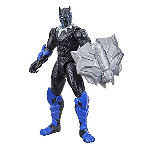 Hasbro Avengers- MECH Strike-Personaggio con Accessori 15CM-Black Panther, F1667