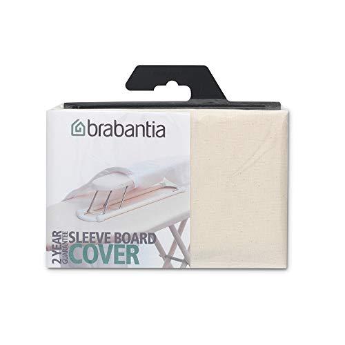 Brabantia 204364 Housse pour Jeanette 60x10cm en coton, Ecru, 28x13x13 cm