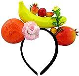 Nicky Bigs Novelties Womens Decorated Tropical Fruit Banana Luau Headband, One Size, Multi-Color