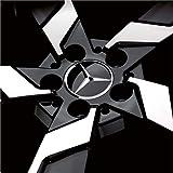 【Mercedes-Benz純正】 メルセデス ベンツ センターキャップ グロスブラック 4個セット B66470200