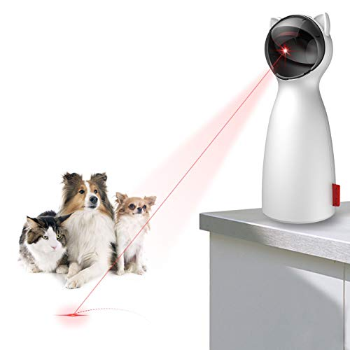 TITIPET Cat Laser Toys, Interactive Cat Toys for Indoor Exercise Mouse Catching Game for House Kittens/Dogs