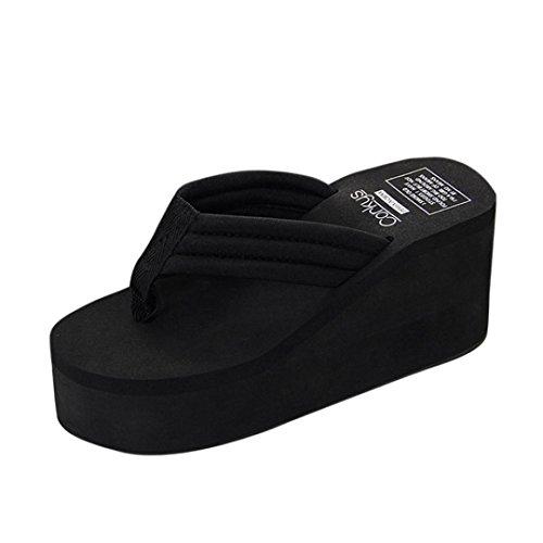 Chanclas Plataforma Sandalias de Mujer y niña, QinMM Verano Zapatos de Playa Zapatillas