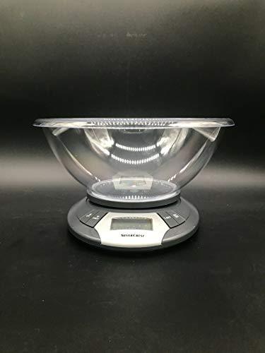 ByArt SilverCrest Balance de cuisine numérique avec écran LCD 1-5 kg