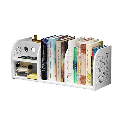 デスク上置き棚 卓上収納ケース 幅59.5cm PVC素材 オフィス収納 机上収納ボックス 書類整理 本立て 小物入れ 仕切り デスク上置き棚 事務用品