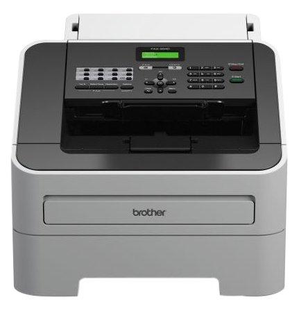 Brother FAX-2940 Laser-Faxgerät, grau/schwarz