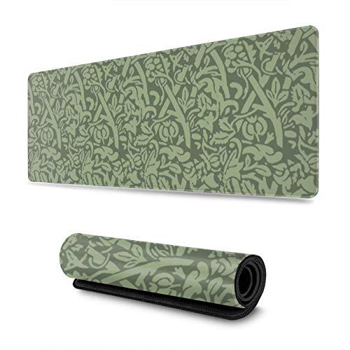 Loeb Vines - Alfombrilla para ratón (antideslizante, resistente al agua, para trabajo, juegos, oficina, hogar, 30 x 80 cm)