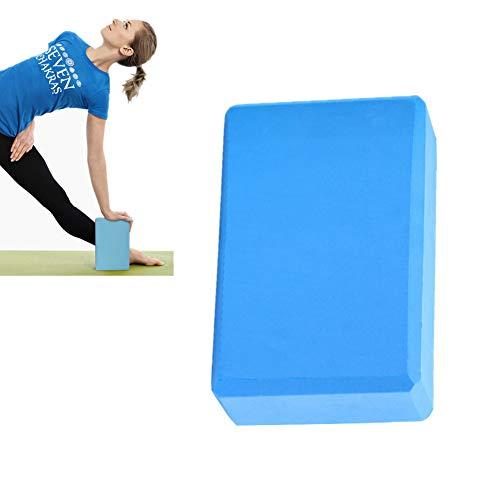 GuangLiu Bloque Yoga Yoga Bloque Pilates Bloques De Espuma Yoga Kit de iniciación Bloques y Ladrillos para Yoga Soporte para Yoga Yoga Bloques de Soporte Blue,2pcs