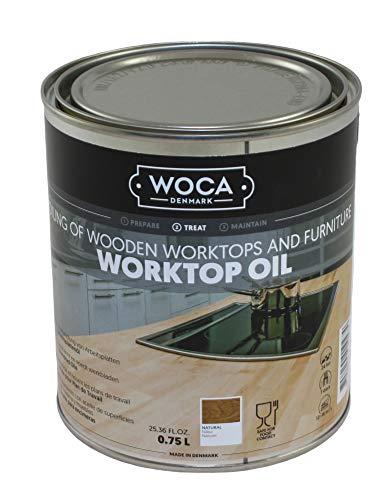 WOCA 527713AA Arbeitsplattenöl Natur 0,75 Liter